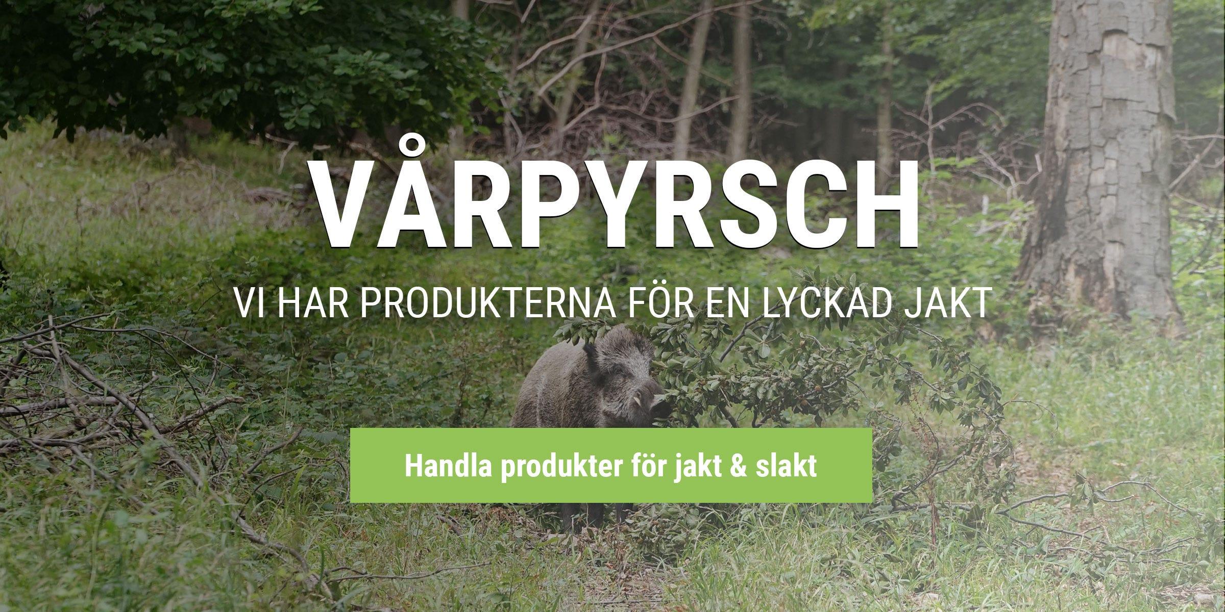 Handla produkter för jakt och slakt