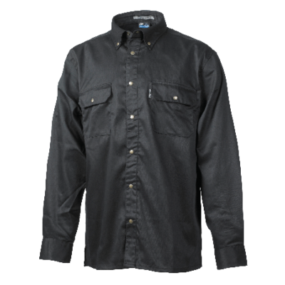 SHIRT CO100 BLACK