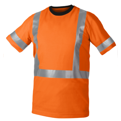 VARSEL T-SHIRT BOM/PES ORANGE