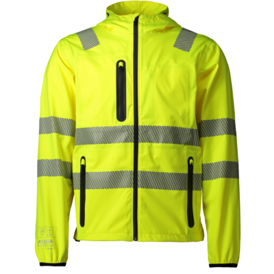 AQUASTRETCH JACKA KLASS 2/3 HIVIS GUL