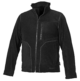 FLEECE JACKA K934 SVART