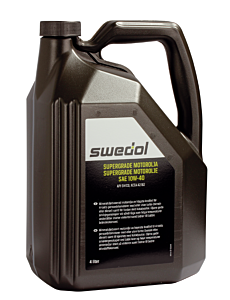 SWEDOL SUPERGRADE 10W-40, 4 L