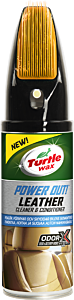 TURTLE WAX POWER OUT LEATHER CLEANER 400 ML