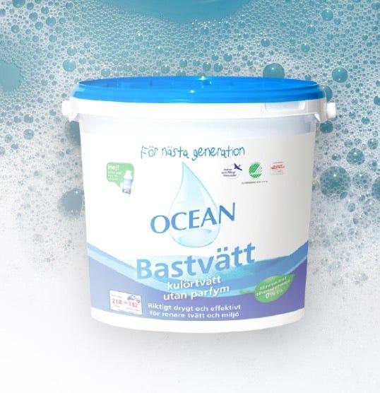 30% på alla tvättmedel från OCEAN