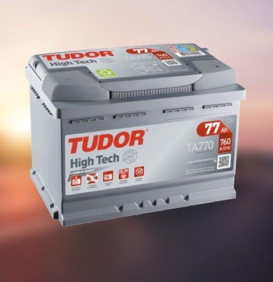 25% på alla fordonsbatterier från TUDOR