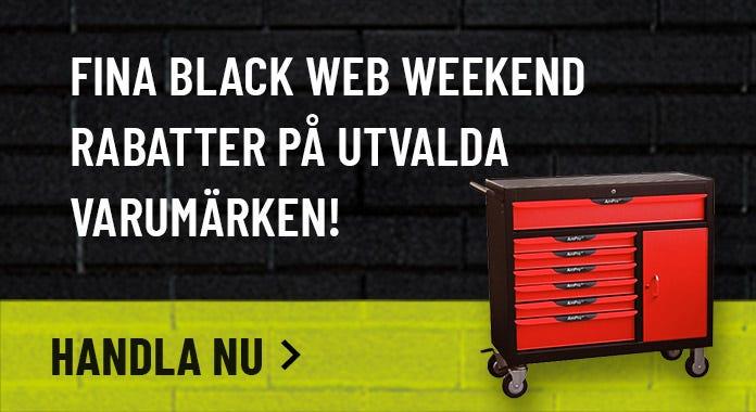 Black Web Weekend utvalda ProdukterVarumärkesrabatter